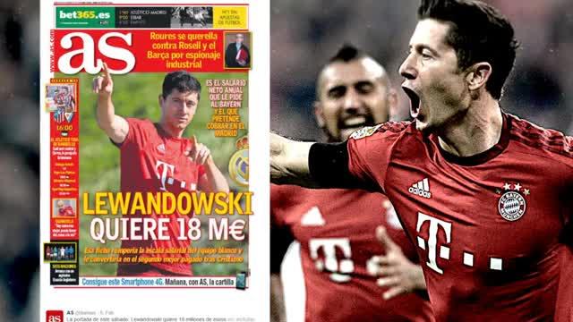"""Lewandowski und Real: """"Irgendwas läuft da"""""""