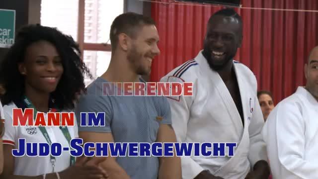 """Judo: Riner begeistert: """"Unglaubliche Spiele"""""""