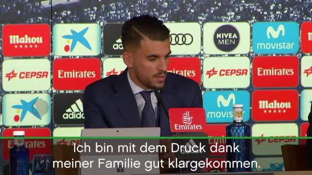 """Ceballos stolz: """"Beim besten Klub der Welt"""""""