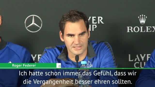 """Federer will beim Laver Cup """"Legenden ehren"""""""