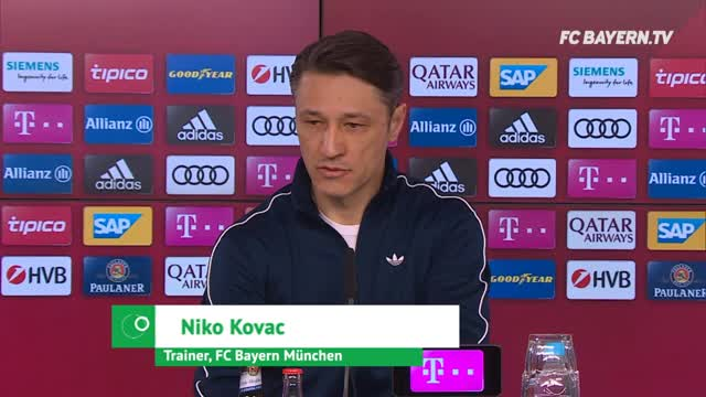 """Kovac zu Spieler-Kritik: """"War nichts Negatives"""""""