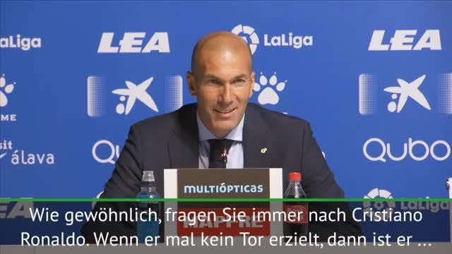 """Zidane zu Ronaldo: """"Wird Unterschied machen"""""""