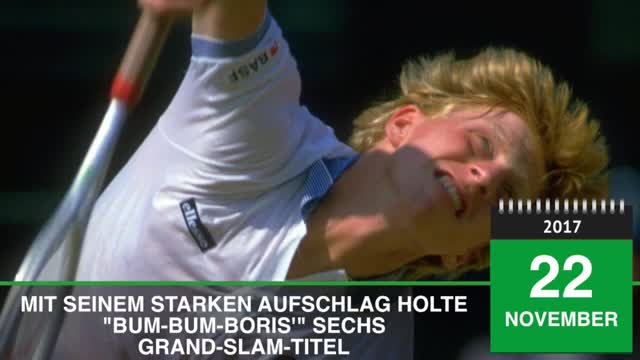 Born This Day: Boris Becker wird 50