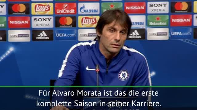 """Conte zu Morata: """"Viel Geduld zeigen"""""""