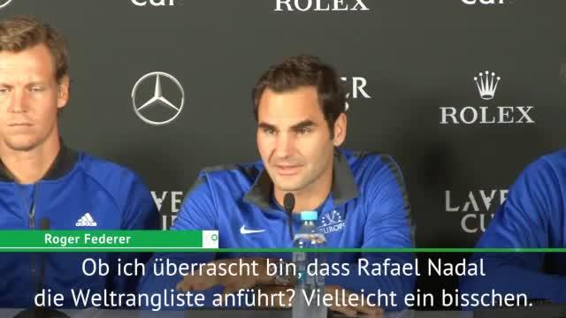 """Federer: Nadal? """"Beeindruckend!"""""""