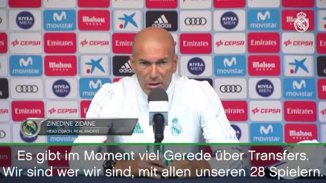 """Zidane zu Mbappé: """"Noch ist alles möglich"""""""