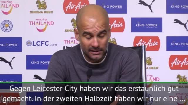 "Guardiola lobt ""erstaunliches"" Manchester City"