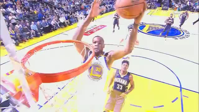 Play of the day! Durant und Curry verzaubern Pacers