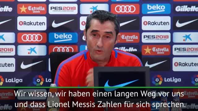 Valverde: Wollen, dass Messi noch öfter trifft