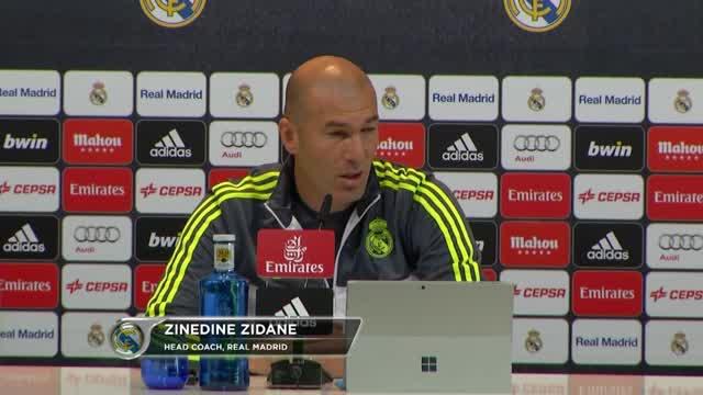 """Zidane vor City: """"Ronaldo hoffentlich fit"""""""