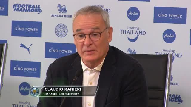 """Ranieri: """"Es ist etwas Spezielles"""""""
