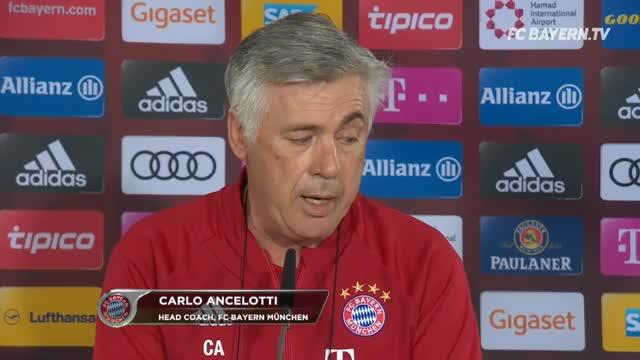 Boateng, Hummels, Martinez? So plant Ancelotti