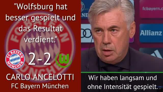 Sprüche der Woche: Ancelotti schiebt Frust