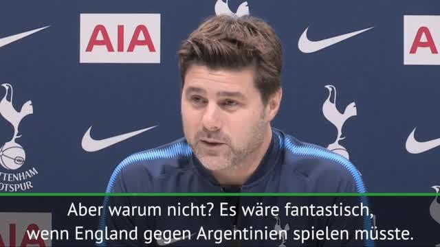 Pochettino: Traumduell England vs. Argentinien