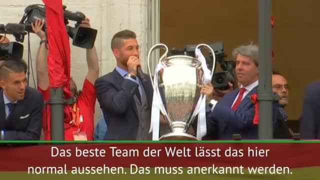 """Ramos zu CL-Sieg: """"Der Titel gehört den Fans"""""""