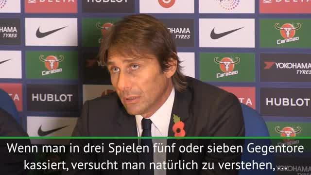 """Conte: Gegentore? """"Müssen eine Lösung finden"""""""