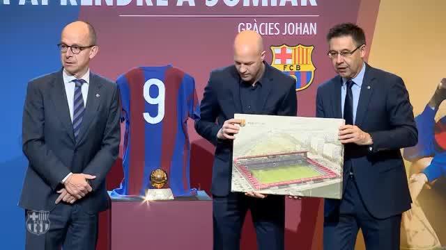 Barcelona benennt Stadion nach Johan Cruyff