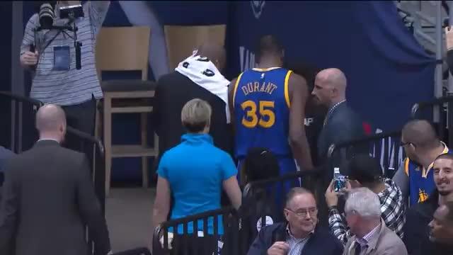 Durant-Verletzung überschattet Dubs-Pleite