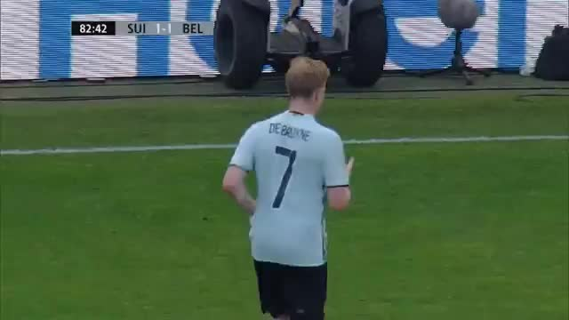 De Bruyne mit Zauber-Siegtor gegen die Schweiz