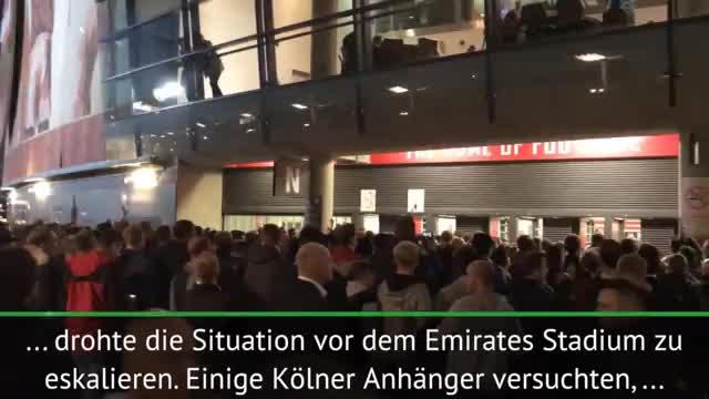 Chaos durch FC-Fans: Blaulicht statt Anpfiff!