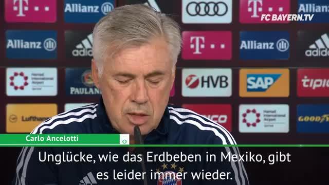 Ancelotti sendet Botschaft nach Mexiko