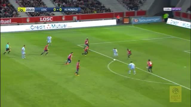 4:0 in Lille! AS Monaco hält Anschluss an PSG