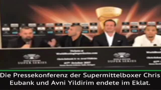 """I **** your wife"": Öner sorgt für Box-Eklat"