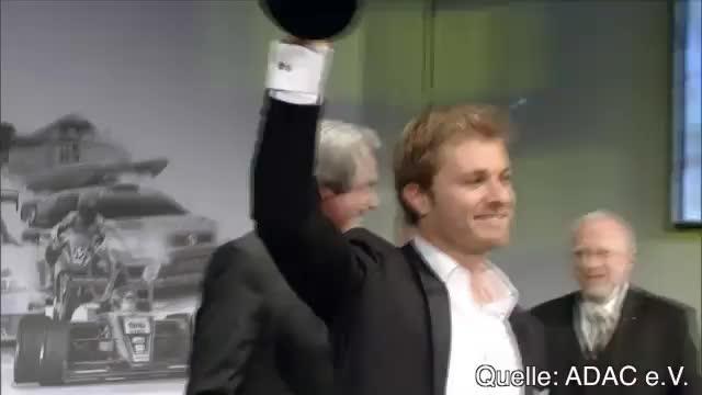 F1: Rosberg der Motorsportler des Jahres