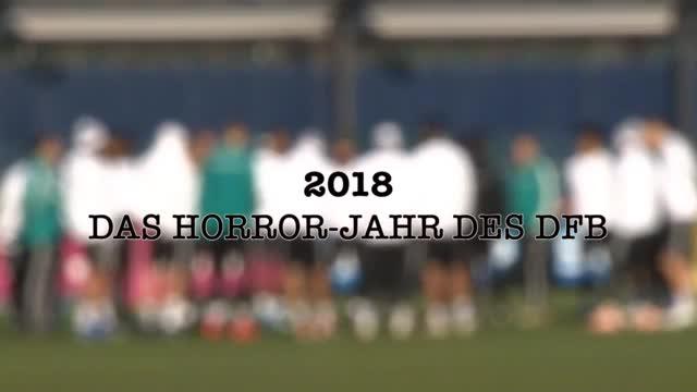 2018: Das Horror-Jahr des DFB-Teams