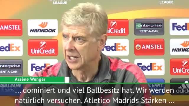 Wenger vor Atletico: Fühlt sich an wie CL-Nacht