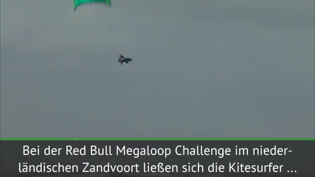 Kitesurfen: Extremste Winde in Zandvoort