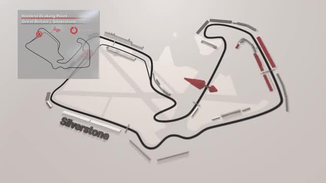 Silverstone: der härteste Bremspunkt