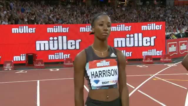 Harison bricht Weltrekord über 100 Meter Hürden