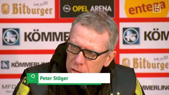 Stöger: BVB riesige Chance und Herausforderung