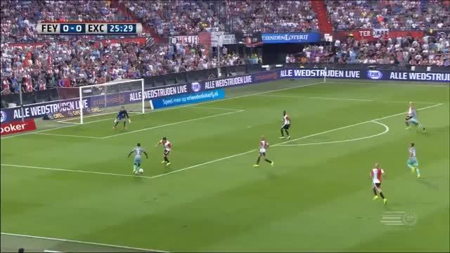 Kuyt-Show und Traum-Schlenzer! Feyenoord feiert