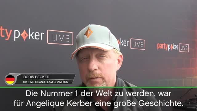 "Becker über Kerber: ""Der Druck ist anders"""