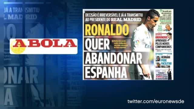 Ronaldo vor Absprung? Wirbel um den Weltstar