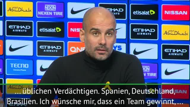 WM 2018: Guardiola gönnt Deutschland den Titel