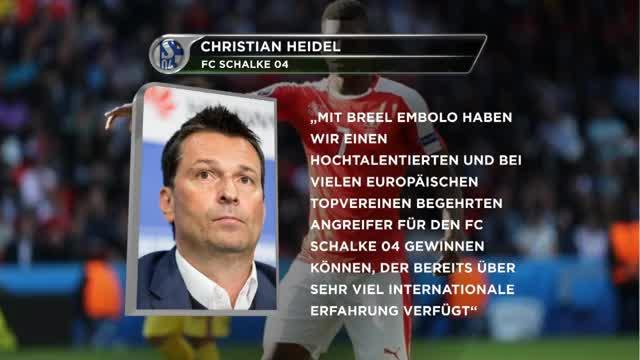 Heidels großer Coup! Schalke holt Embolo