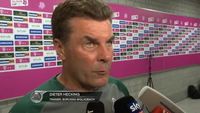 "Telekom Cup: Heckings ""wichtigste Erkenntnis"""