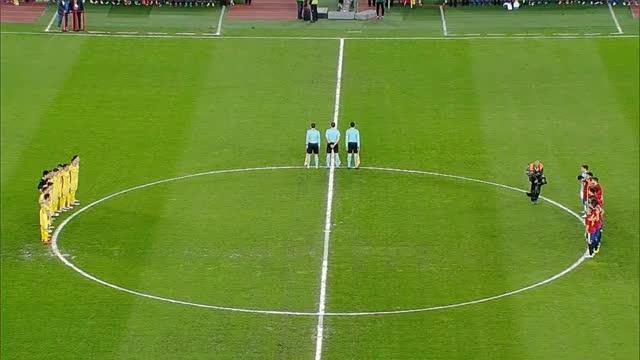 Rumänien und Spanien gedenken Cruyff vor Test