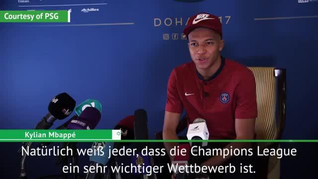 """Mbappé: """"Wir wollen alle Titel gewinnen"""""""