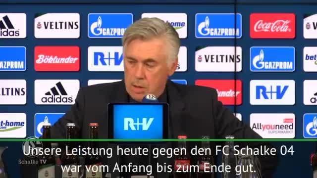 Ancelotti über Schalke-Sieg und James Rodriguez