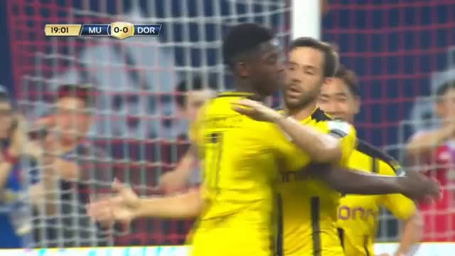 ICC: Traumtore! BVB entzaubert Mourinhos United