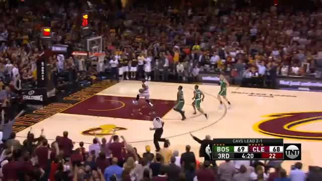LeBron James scheitert mit Signature-Move