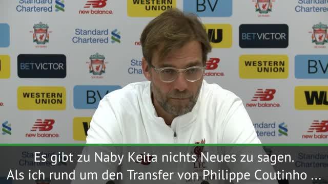"""Klopp über Keita-Transfer: """"Nichts Neues"""""""