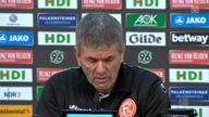 """Funkel nach H96: """"Werden auf dem Boden bleiben"""""""