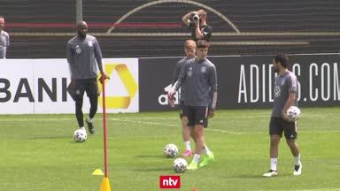 England-Quartett eingetroffen! DFB-Team trainiert komplett