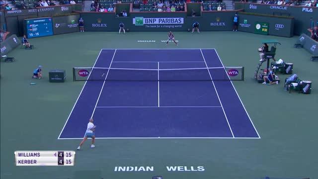Indian Wells: Kerber triumphiert gegen Williams