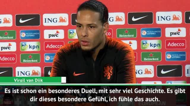 EM-Quali: Van Dijk: DFB hat nicht die beste Phase
